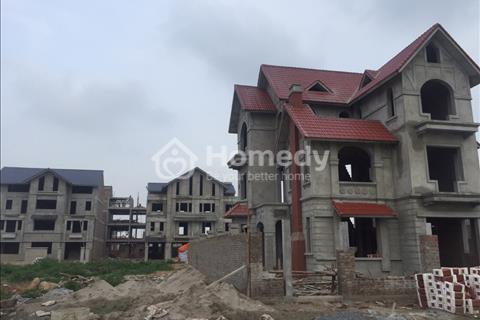 Bán biệt thự mặt phố Lê Trọng Tấn, Dương Nội, Hà Đông (300 m2, 4 tầng) 2 mặt tiền, view vườn hoa