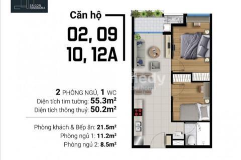 Saigon Panorama căn hộ trung tâm Quận 7 - Đẳng cấp resort tới nơi bạn ở