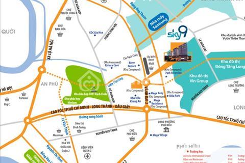 Cho thuê căn hộ Firts Home dự án Sky 9, 2 phòng ngủ, giá 6,5 triệu/tháng cuối tháng 7 nhận nhà