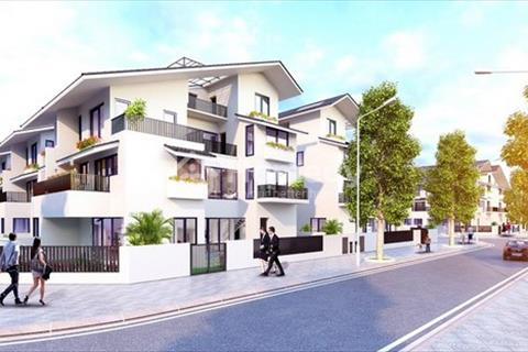 Biệt thự song lập Gamuda Hoàng Mai SD5 Iris Homes căn góc đẹp nhất dự án