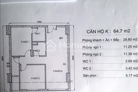 Căn hộ 64 m2 mặt tiền Phạm Văn Hai - Tầng cao mát mẻ - Bảo vệ 24/24