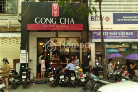 Nhà mặt tiền cho thuê đường Nguyễn Văn Cừ, Phường 3, Quận 5.