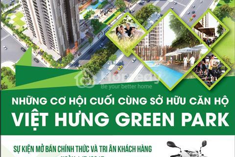 Chung cư Việt Hưng căn 99m2, giá 1,9 tỷ có bể bơi quà tặng 100 triệu + tủ lạnh, máy giặt
