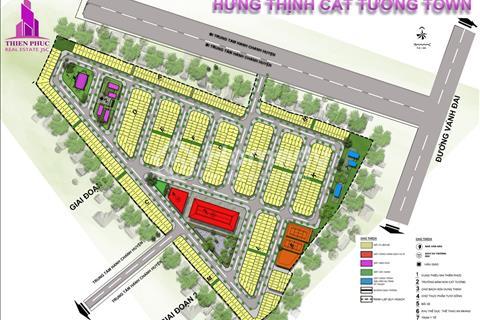 Dự án Hưng Thịnh Cát Tường giá gốc từ chủ đầu tư: Chỉ 135 triệu sở hữu nền đất.