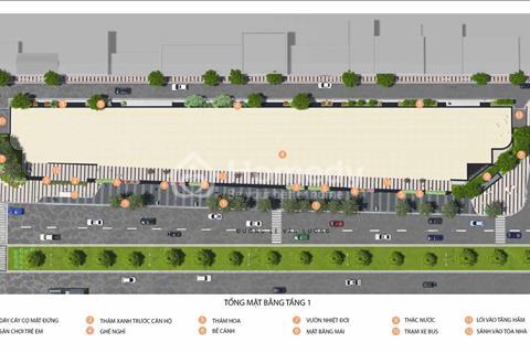 Bán sàn thương mại chung cư The Golden Palm mặt đường Lê Văn Lương giá 32 triệu/m2