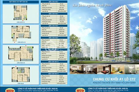 Danh sách các căn hộ đang bán tại chung cư A1CT2 Tây Nam Linh Đàm