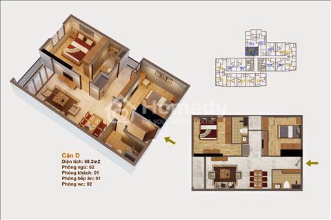 Cần bán căn hộ chung cư cao cấp tại Goldmark City giá tốt.