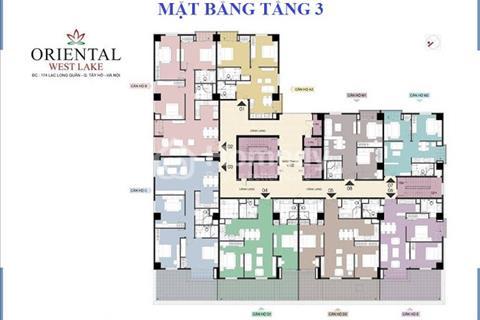 Oriental Westlake – 174 Lạc Long Quân, chỉ từ 800 triệu nhận ngay căn hộ cao cấp, full nội thất