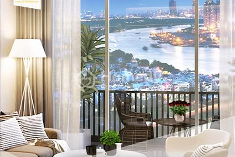 Bán căn 2 phòng ngủ dự án M-One Nam Sài Gòn 1,8 tỷ, hướng Đông, view sông