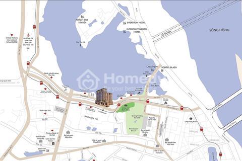 Dự án căn hộ chung cư đầu tiên của tập đoàn Sun Group được thiết kế tỉ mỉ trên từng đường nét