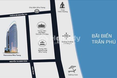 Bán căn hộ Panorama Nha Trang view biển mua đợt 1 giá rẻ hơn so với chủ đầu tư 1 tỷ