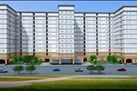 Căn hộ Golf View Palacemang đến cho khách hàng 2 block tòa nhà cao 10 tầng trong đó tầng 1 là trung tâm thương mại. Với gần 500 căn hộ cao cấp, Golf View Palace sẵn sàng phục vụ mọi nhu cầu sử dụng của cư dân.