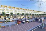 Dãy nhà phố thương mại (Shophouse) được thiết kế đồng bộ, bắt mắt, tạo nên cơ hội đầu tư kinh doanh cực tốt cho cư dân  tại đây.