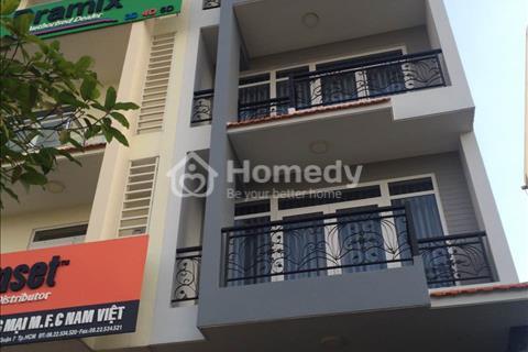 Cho thuê nhà phố, biệt thự đường Nguyễn Thị thập, 5 x 20 m, hầm, 5 lầu, 63 triệu/tháng