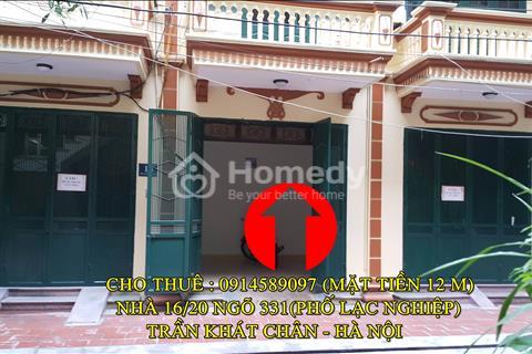 Cho thuê (hoặc bán) nhà mặt tiền, 5 tầng ô tô đỗ cửa tiện kinh doanh, làm văn phòng, khách sạn