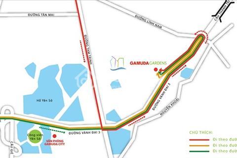 Bán căn biệt thự song lập Iris Home diện tích 147 m2 khu đô thị Gamuda