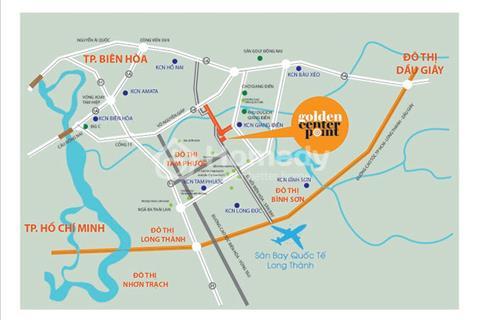 Đất nền Golden Center Point - Ngã 3 Thái Lan, gần khu công nghiệp Giang Điền