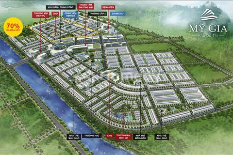 Đất nền gói 5 Thái Hưng - khu đô thị Mỹ Gia  đầu tư nhanh, sinh lợi cao, vị trí đẹp