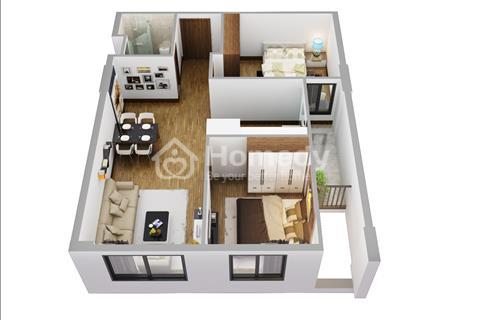 Căn hộ CT3 - khu đô thị VCN Phước Hải, tầng 1 - nguyên dãy diện tích 65 m2