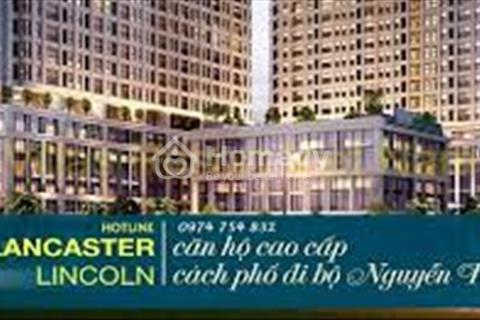 Độc quyền căn đẹp Lancaster Lincoln, vay ưu đãi 0% lãi suất