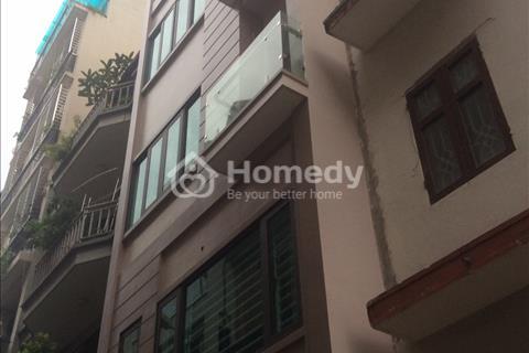 Bán nhà mặt tiền 5 m mới, đẹp, kinh doanh thuê văn phòng ô tô Cầu Giấy Hà Nội 8,8 tỷ.