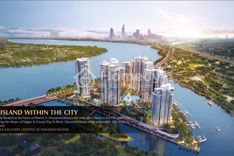 Bán lỗ gấp căn Đảo Kim Cương 04.06, 2 phòng ngủ, 96 m2, view sông, 6,1 tỷ