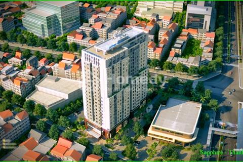 Cho thuê căn hộ chung cư Shapphire Place số 4 Chính Kinh. Diện tích 85 m2, 2 phòng ngủ nguyên bản
