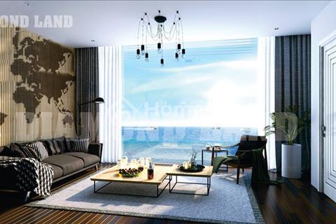 Bán căn hướng Nam mát mẻ 2 phòng ngủ, 2 wc 60 m2 Tầng 11 view biển, Ngũ Hành Sơn. Giá 1 tỷ 380tr