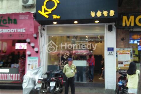 Cho thuê nhà mặt tiền đường Võ Văn Tần, Phường 5, Quận 3