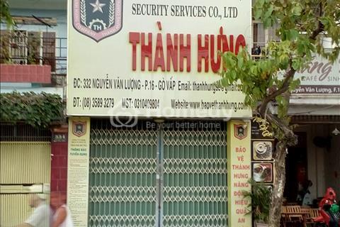 Cho thuê nhà 2 mặt phố đường Nguyễn Văn Lượng, đối diện Lotte Mart, diện tích 234 m2