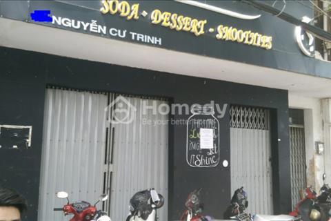 cho thuê mặt bằng mặt tiền Nguyễn Cư Trinh, Phường Nguyễn Cư Trinh, Quận 1