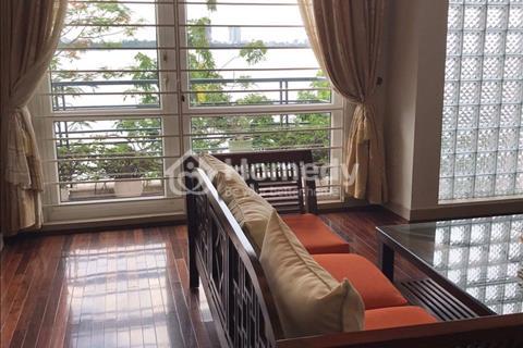 Cho thuê biệt thự 4 tầng view ôm trọn Hồ Tây đường Nguyễn Đình Thi