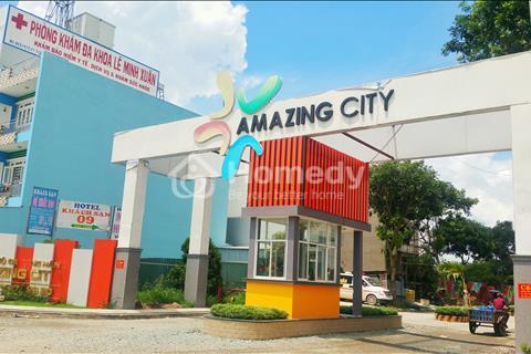 Bán đất ở khu dân cư Amazing Bình Chánh, diện tích 5 x 20 m, sổ riêng, xây dựng ngay