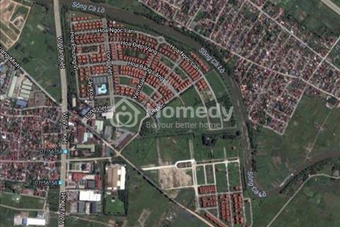 Bán đất biệt thự khu đô thị Quang Minh, 360 m2, mặt tiền 15 m – giá 2,8 tỷ (8 triệu/m2)