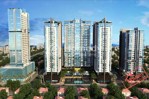 Cho thuê căn hộ chung cư Golden Land 93 m2, 2 phòng ngủ, nội thất cơ bản giá 10 triệu/tháng