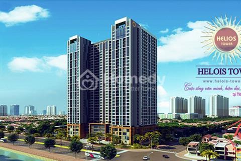 Cho thuê căn hộ chung cư Helios Tower 75 Tam Trinh 70 m2, 2 phòng ngủ, gần đủ đồ giá 7 triệu/tháng