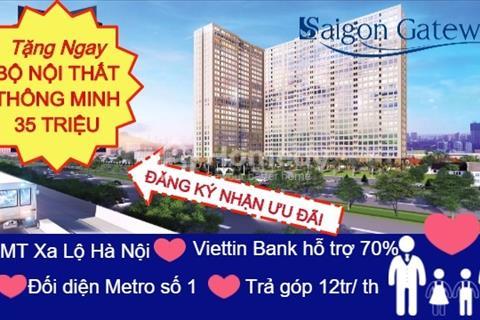 6 lý do nên sở hữu căn hộ thông minh Sài Gòn Gateway ngay trung tâm Quận 9