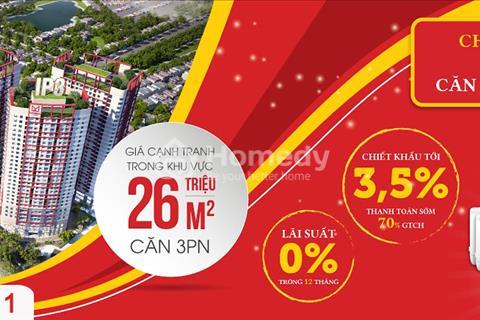 Tặng 50 triệu cho 20 khách đầu tiên mua căn hộ Imperia Plaza - Chiết khấu 3,5%. Giá 26 triệu/m2