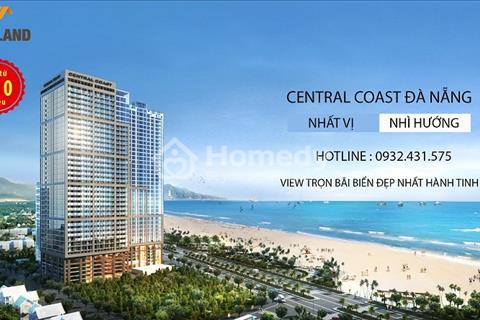 Central Coast Đà Nẵng căn hộ khách sạn 4 sao, 100% hướng biển, thành phố giá từ 850 triệu/căn