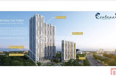 Cần bán gấp 2 căn hộ Centana Thủ Thiêm B8 - 15 và B8 - 03
