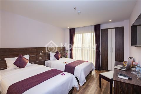 Bán khách sạn mặt tiền đường Hùng Vương thành phố Nha Trang 4 tầng 20 phòng
