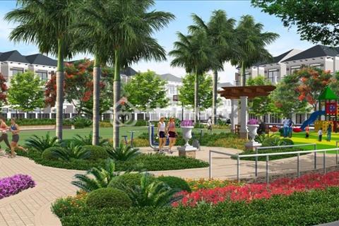 Bán nhà phố liền kề Lakeview mẫu D, 100 m2, có sân vườn, sân thượng, hồ cảnh quan, giá 6,8 tỷ