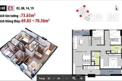 Những lý do lựa chọn căn hộ 3 ngủ, 1,3 tỷ chung cư Hateco Xuân Phương