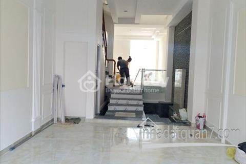 Bán nhà phố hiện đại cao cấp mặt tiền hẻm nhựa 8 m đường Bùi Văn Ba, phường Tân Thuận Đông, Quận 7