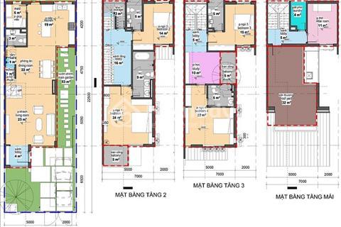 Bán biệt thự song lập song lập SL03 - 22 Iris Homes 157 m2 khu đô thị Gamuda giá tốt