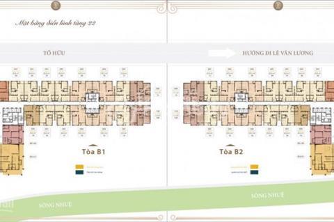 Bảng hàng dự án Roman Plaza 26 triệu/m2 bàn giao full nội thất. Diện tích 73 - 144 m2