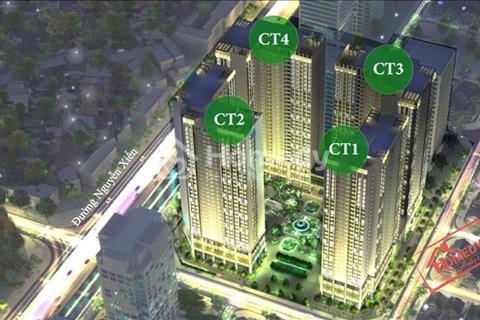 Cho thuê chung cư Eco Green Nguyễn Xiển, diện tích 65 m2, 2 ngủ, 2 WC, đồ cơ bản, 7 triệu/ tháng
