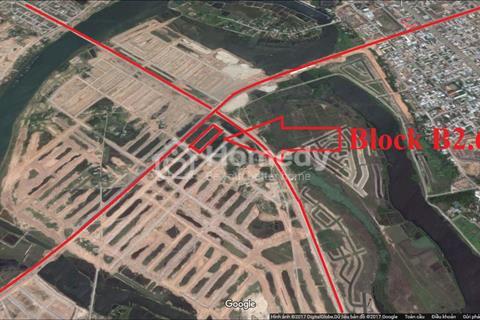Cần bán đất Nam Hòa Xuân B2.64 điện ngầm, đối lưng trục thông Minh Mạng giá 860 triệu
