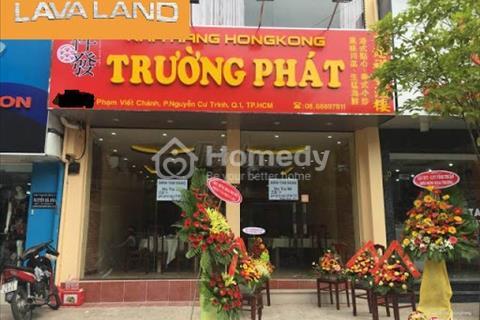 Cho thuê nguyên căn Phạm Viết Chánh, phường Nguyễn Cư Trinh, quận 1