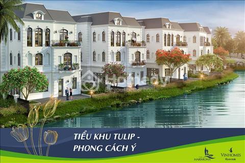 Chính chủ bán 3 căn biệt thự đơn lập mặt hồ 12,4 ha đẳng cấp bậc nhất tại Vinhomes Riverside